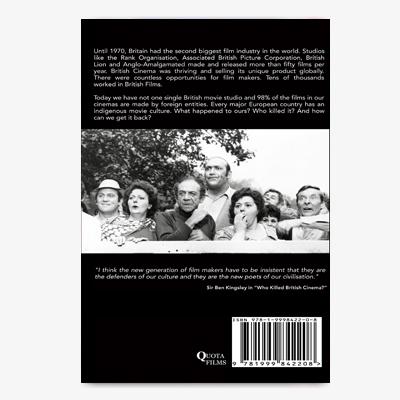 Who Killed British Cinema Paperback Back cover