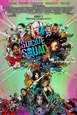 Suicide Squad film poster