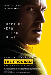 The Program 2015 Film Poster featuring Ben Foster