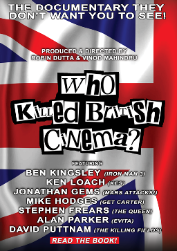 DVD Cover for Who Killed British Cinema documentary