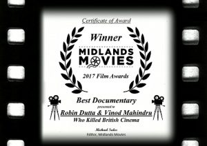 Best Documentary Certificate