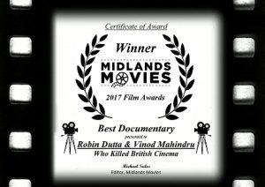 Best Documentary Certificate