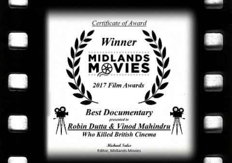 Midlands Movies 2017 Award for Best Documentary