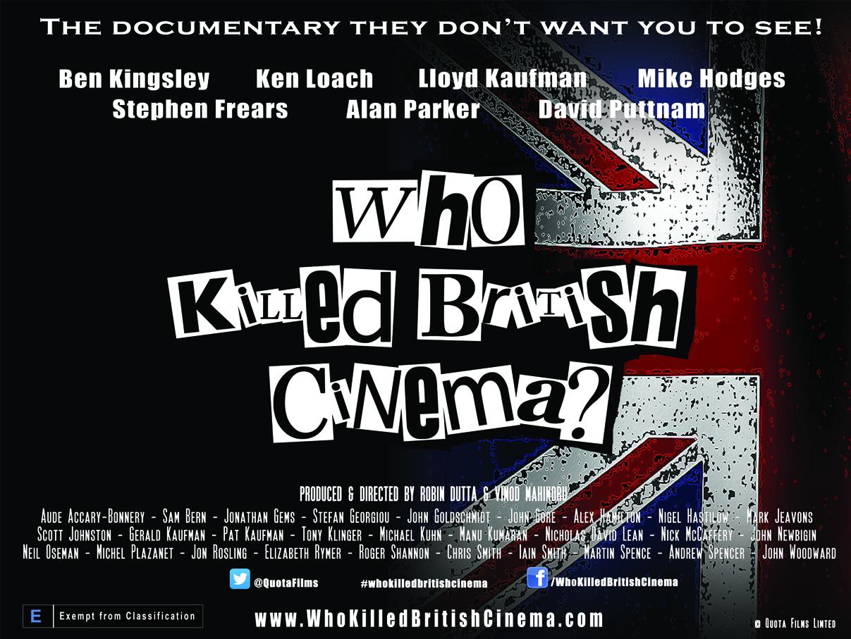 Who Killed British Cinema poster landscape